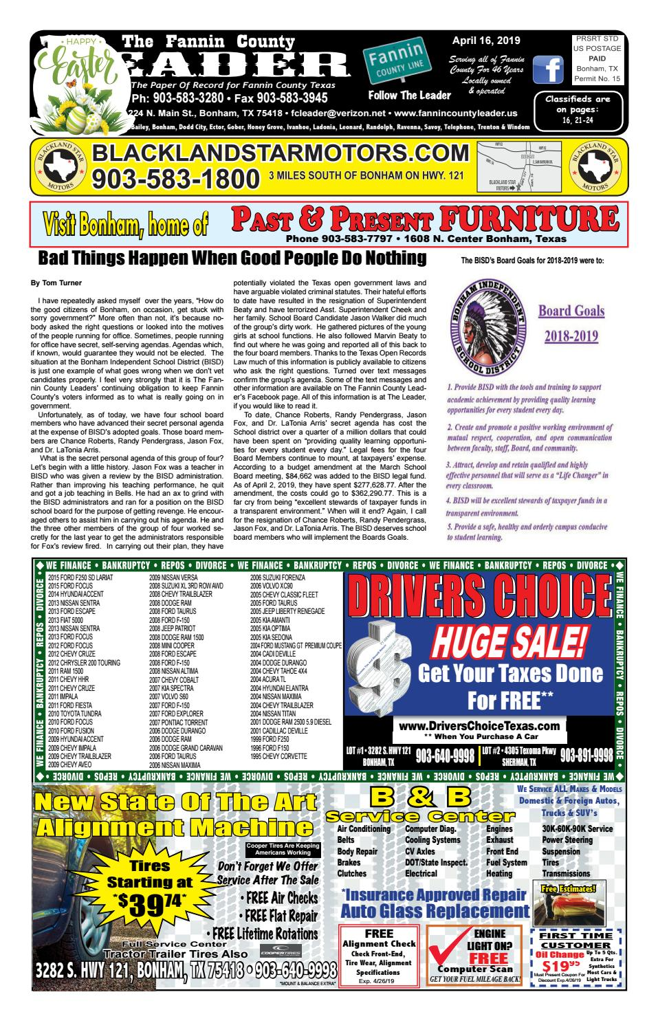 358252471 4-16-19 Leader E-Edition by The Fannin County Leader - issuu