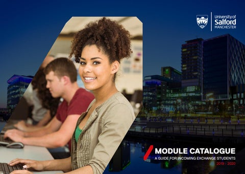 Module Catalogue 2019-2020 by University of Salford - issuu