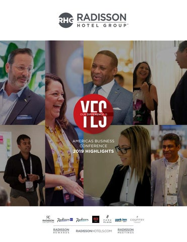 Radisson Hotel Group 2019 Americas Business Conference