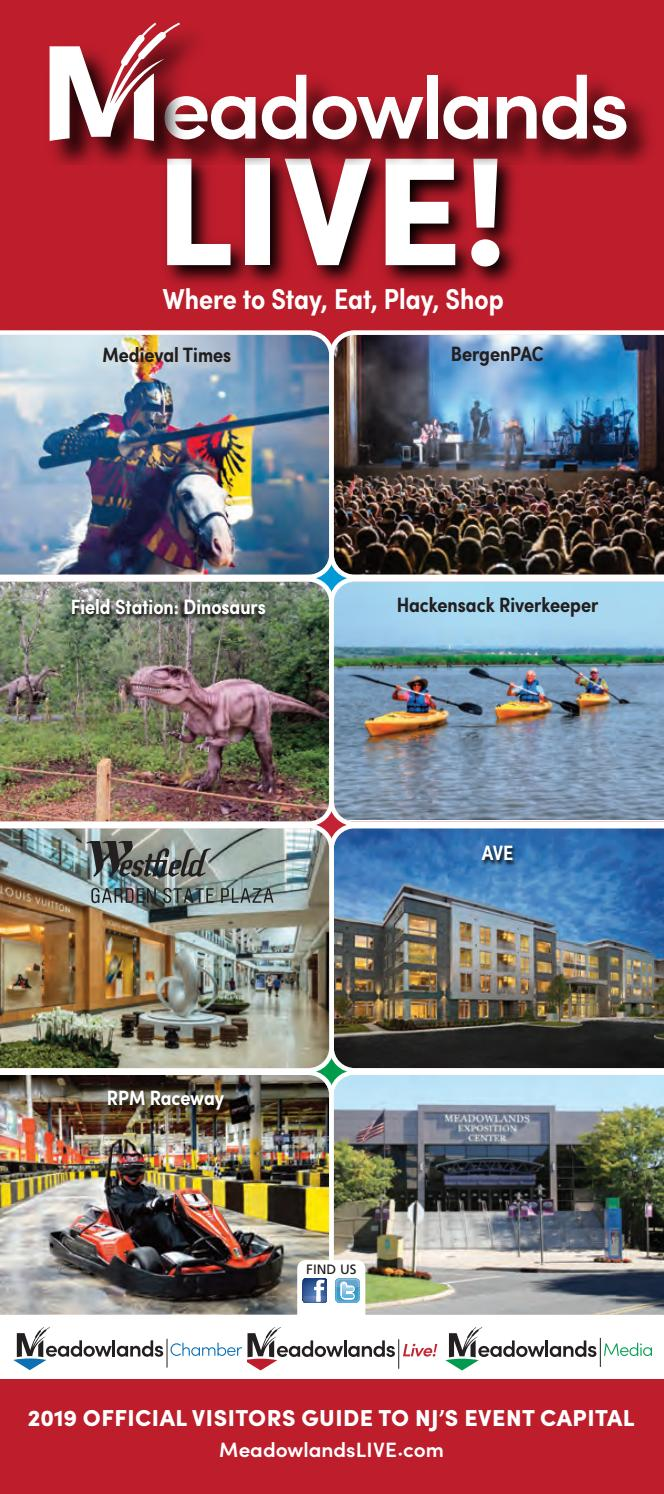 2019 Meadowlands Live! Visitors Guide by Meadowlands Media