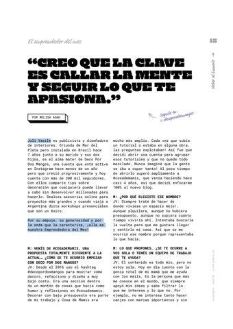Page 15 of El emprendedor del mes: Juli Vasile
