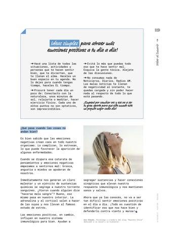 Page 19 of Emociones positivas: receta infalible para la felicidad!