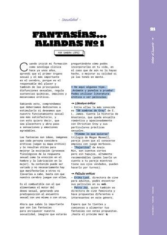 Page 21 of Fantasías... aliadas nº1