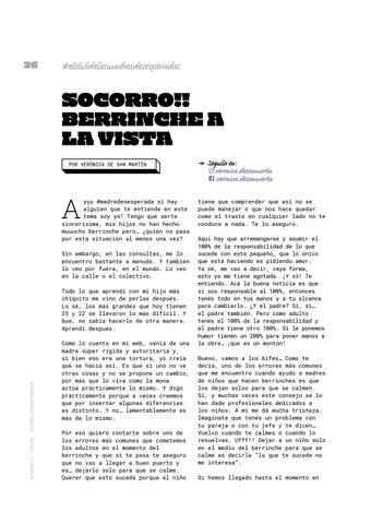 Page 26 of Socorro!! Berrinche a la vista
