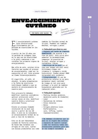 Page 33 of Envejecimiento Cutáneo