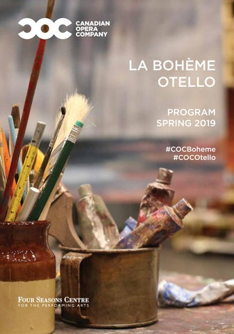 Spring 2019 House Program by Canadian Opera Company - issuu
