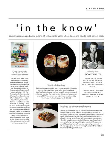 Page 13 of IN THE KNOW