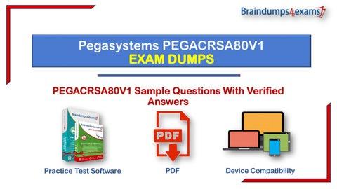 CRSA 80V1 PEGACRSA80V1 Exam Q/&A+SIM Certified Robotics System Architect