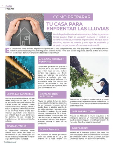 Page 2 of Revista Dato Avisos N°16 - Providencia