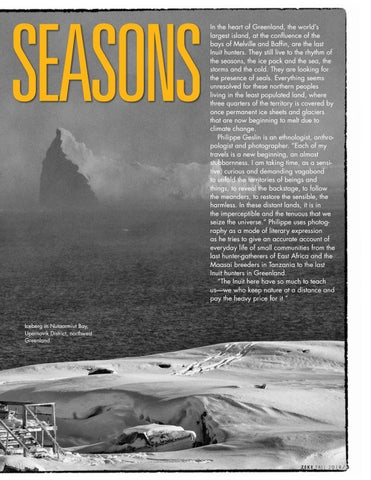 Page 5 of Rhythm of the Seasons: Travelling North with the Last Inuit Hunters