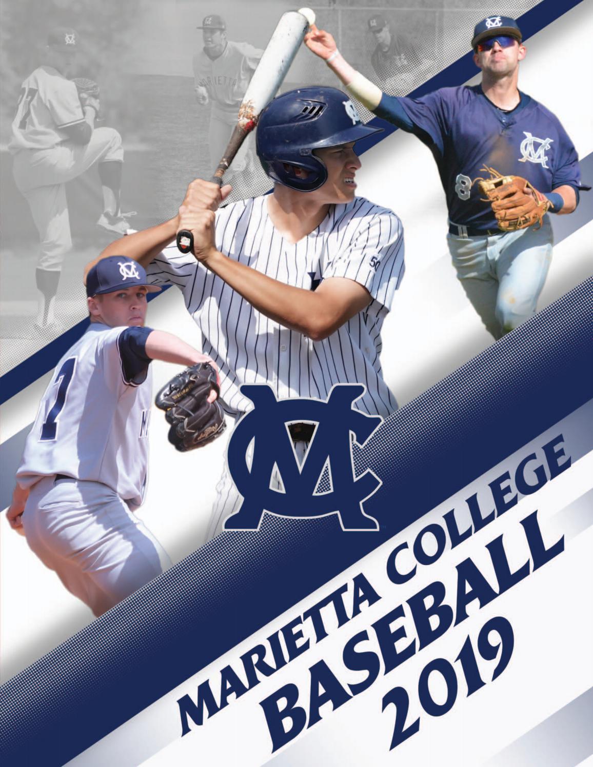 Mrs huntingdon smythe 2019 Baseball Yearbook By Marietta College Issuu