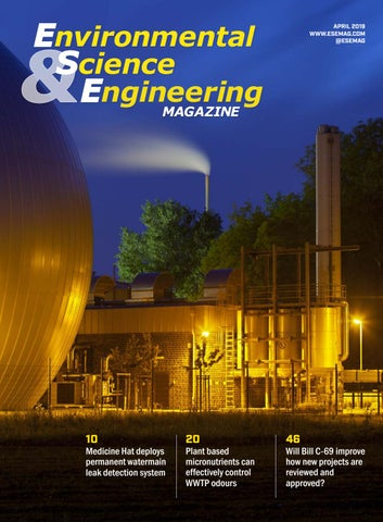 Environmental Science & Engineering Magazine | April 2019 by
