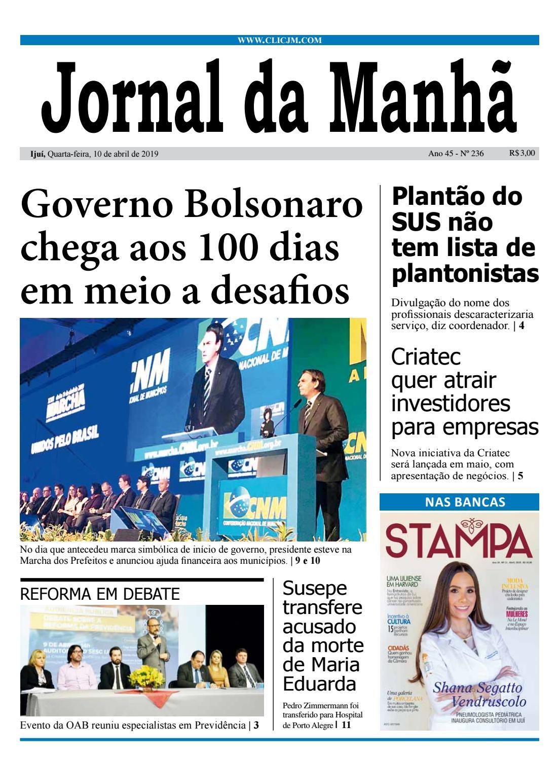 e5b76007d6ef Jornal da Manhã - Quarta-feira - 10-04-2019 by clicjm - issuu