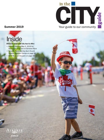 In the City Guide Summer 2019 by City of Airdrie - issuu