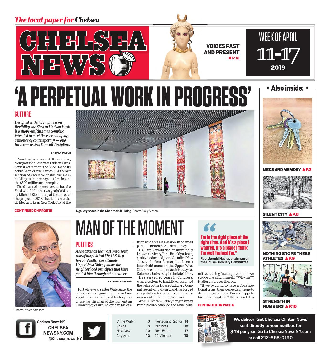 Chelsea newspaper nyc