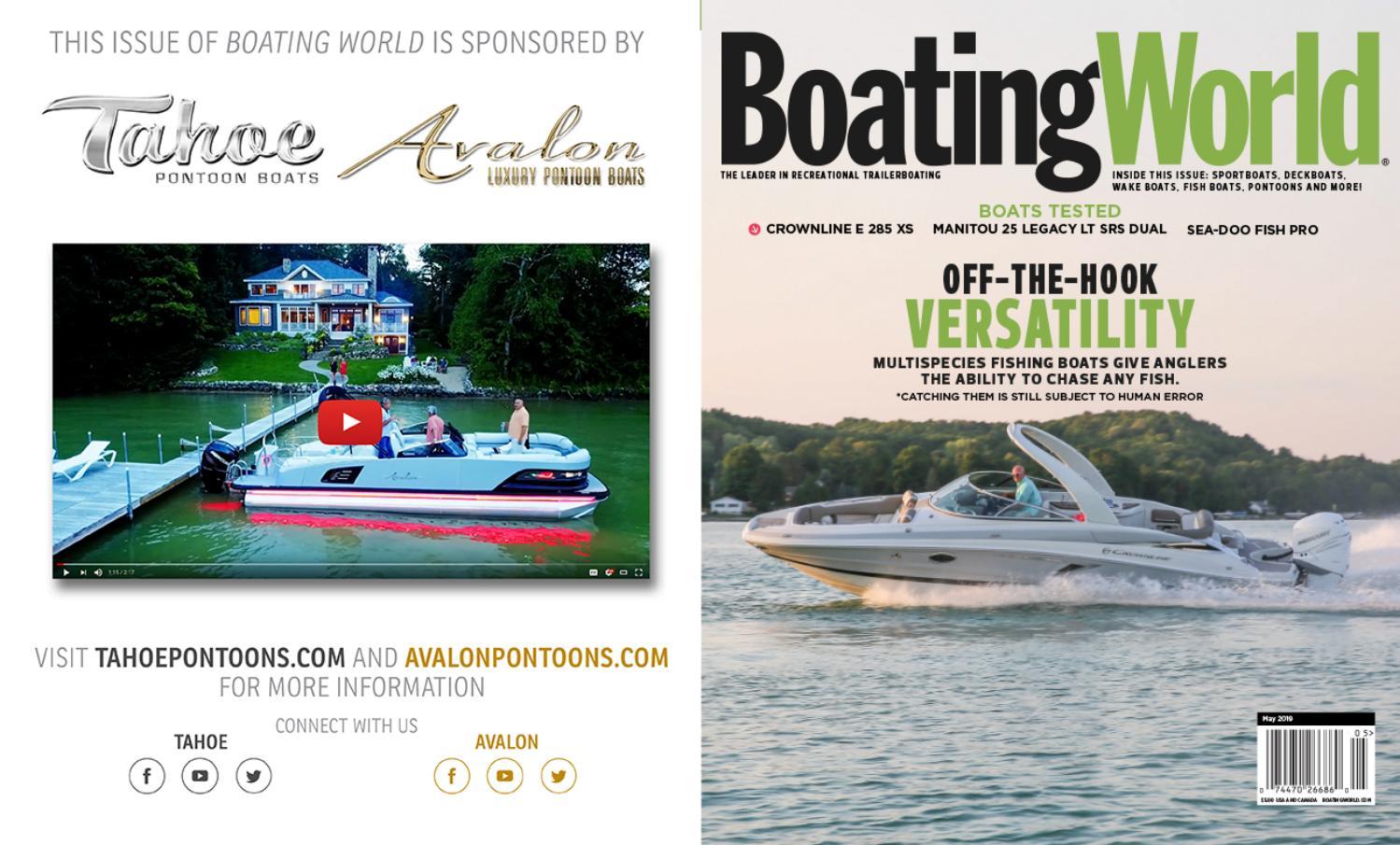 May 2019 - Boating World Magazine by Duncan McIntosh Company