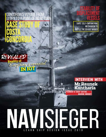 NAVISIEGER Issue for 2019 by Learn Ship Design - issuu