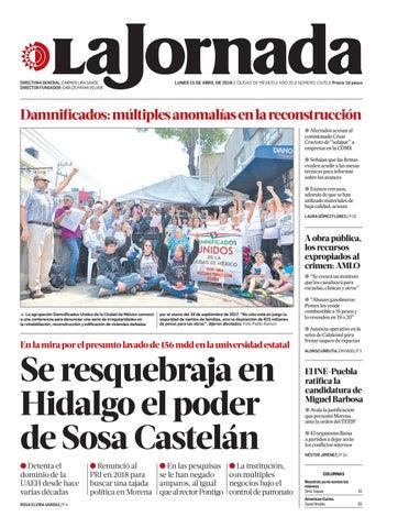 bf86d13f9 La Jornada, 04/15/2019 by La Jornada - issuu