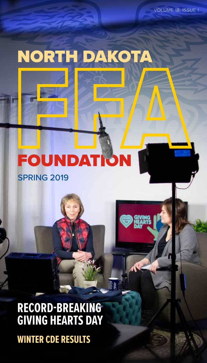 nd ffa foundation spring 2019 newsletter by nd ffa issuu nd ffa foundation spring 2019