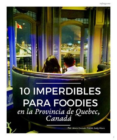 Page 5 of 10 imperdibles para foodies en la Provincia en Quebec, Canadá