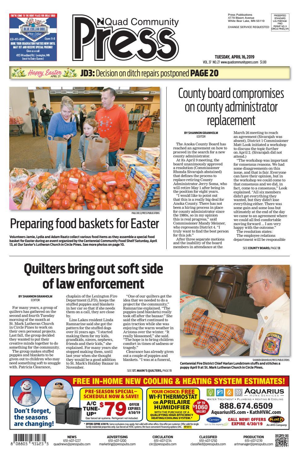 Quad Community Press by Press Publications - issuu