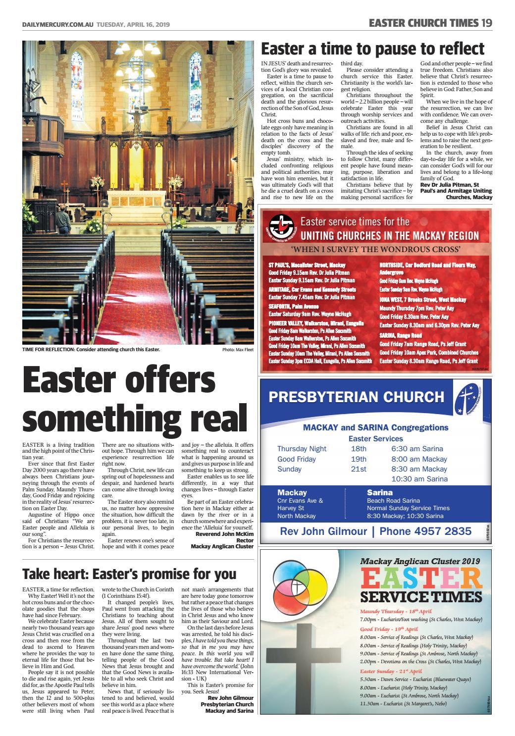 Easter Church Times by NRM Custom Publishing - issuu