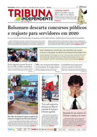 4753b3eb4 Edição número 3373 - 16 de abril de 2019 by Tribuna Hoje - issuu