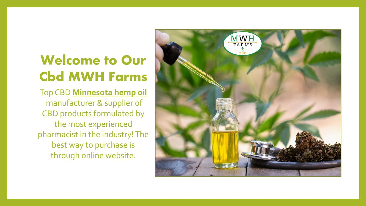 High Superiority CBD oil & More by MWH Farms - issuu