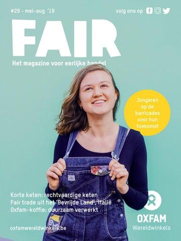6833898f56b Fair: Magazine Oxfam-Wereldwinkels n°29 - mei 2019 by Oxfam ...