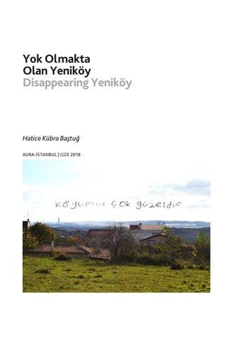 Page 22 of Yok Olmakta Olan Yeniköy / Disappearing Yeniköy - H. Kübra Baştuğ