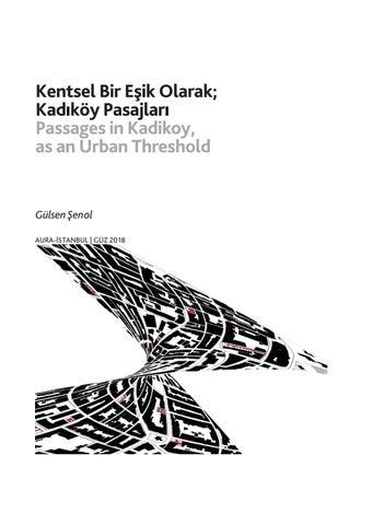 Page 26 of Kentsel Bir Eşik Olarak; Kadıköy Pasajları / Passages in Kadikoy, as an Urban Threshold - Gülsen Şenol