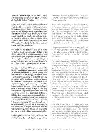 Page 27 of Kentsel Bir Eşik Olarak; Kadıköy Pasajları / Passages in Kadikoy, as an Urban Threshold - Gülsen Şenol
