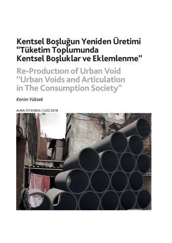 """Page 30 of Kentsel Boşluğun Yeniden Üretimi """"Tüketim Toplumunda Kentsel Boşluklar ve Eklemlenme'' / Re-Productıon of Urban Void ''Urban Voids and Articulation in The Consumption Society'' - Kerim Yüksek"""