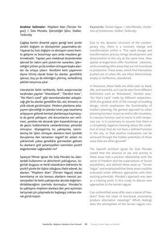Page 35 of İstanbul'da Müphem Alanların İzini Sürmek / Tracing Terrain Vague In İstanbul - Hilal Kaynar