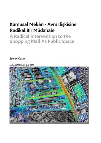 Page 50 of Kamusal Mekân - Avm İlişkisine Radikal Bir Müdahale / A Radical Intervention to the Shopping Mall As Public Space - Ecenur Çorlu