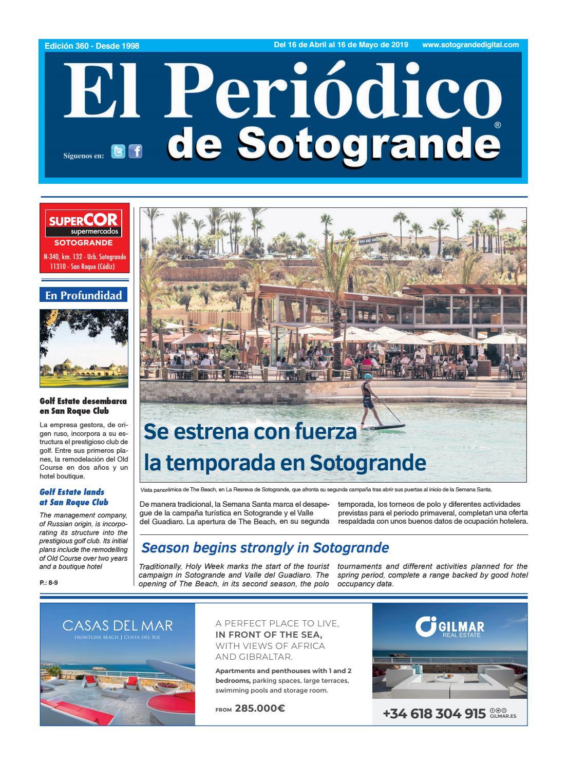 258163293a El Periódico de Sotogrande 360 by HCP GROUP SOTOGRANDE - issuu