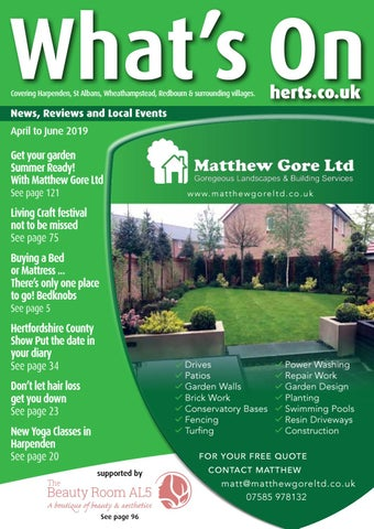 Whats On Herts April 2019 By Whats On Herts Magazine Issuu