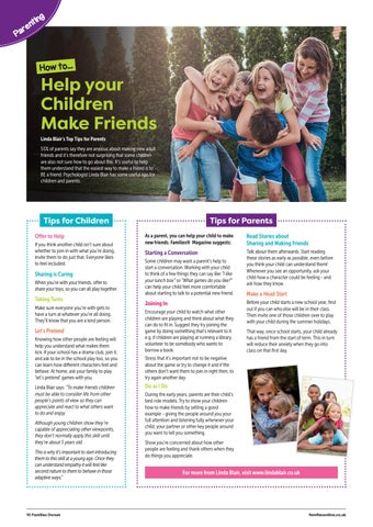 Page 10 of How to Help Your Children Make Friends