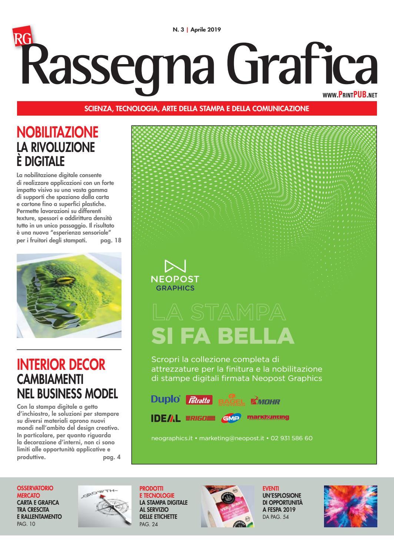 2d229b1139 Rassegna Grafica n.3 - Aprile 2019 by Innovative Press srl - issuu