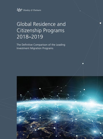 Global Residence and Citizenship Programs 2018–2019 by Ideos