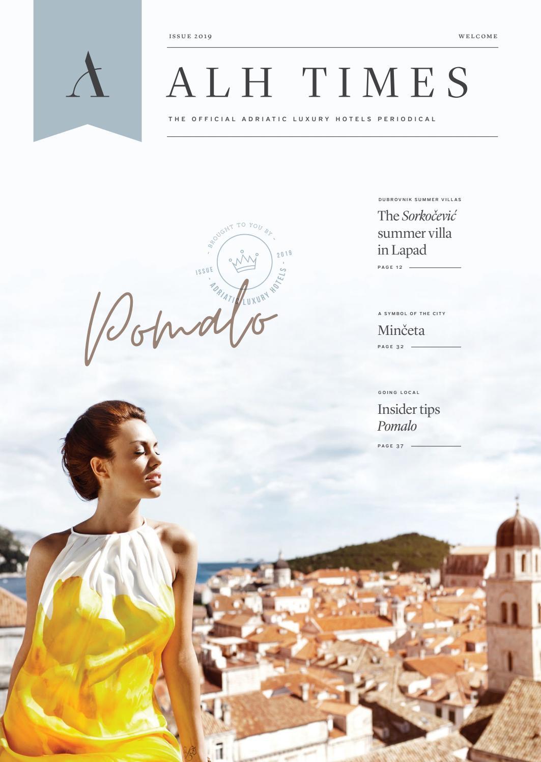 ALH Times - 2019 edition by Adriatic Luxury Hotels - issuu