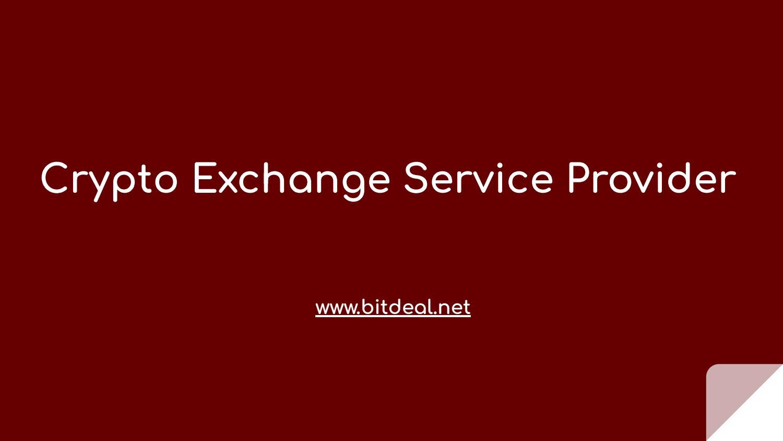 Crypto Exchange Service Provider by zaarahary - issuu