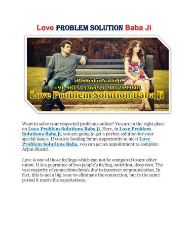 Love problem solution baba ji | +91-9815753695, 0-9872999801 | Delhi