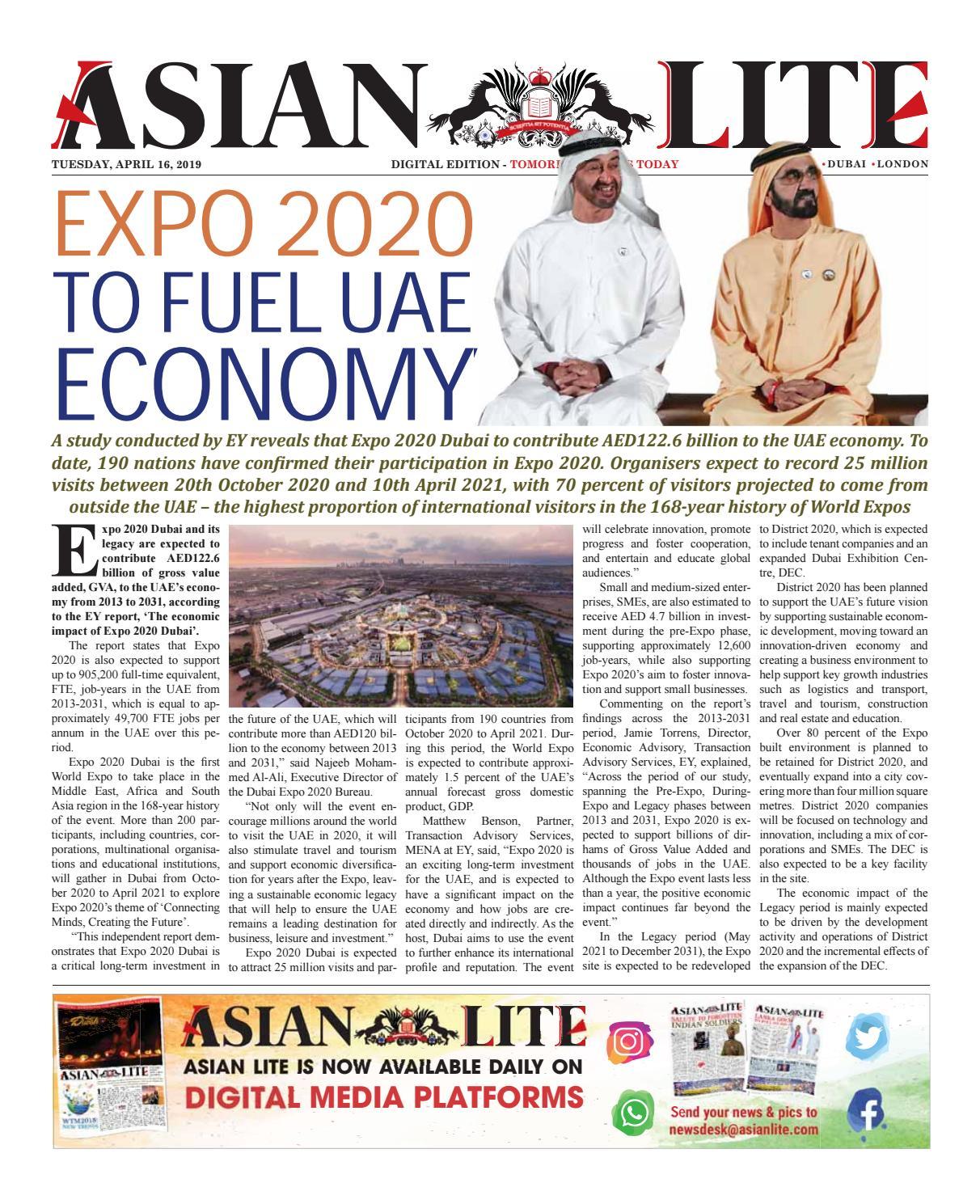 Asian Lite Daily Digital - April 16, 2019 by beneeksiraj - issuu