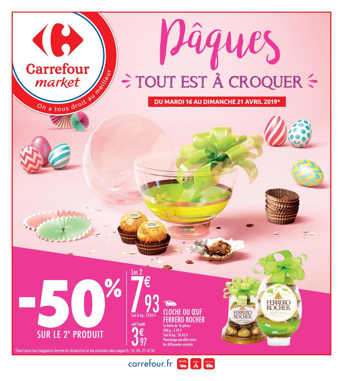 Catalogue Carrefour Market Du 16 Au 21 Avril 2019 By