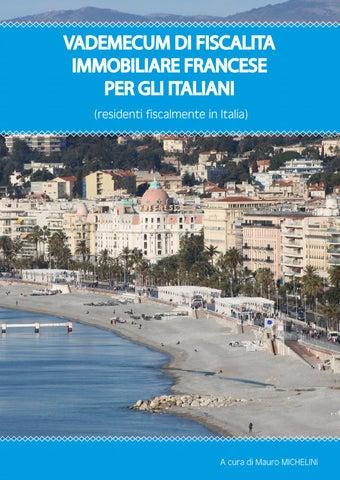 Vademecum Di Fiscalità Immobiliare Francese Per Gli Italiani
