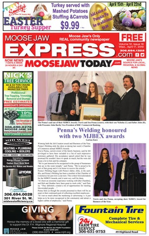 Moose Jaw Express by Moose Jaw Express - issuu