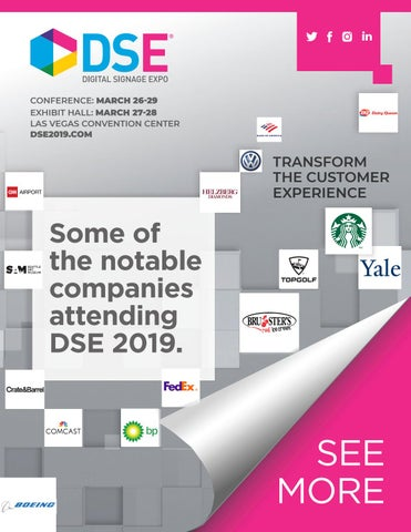 DSE 2019 Attendees by Exponation LLC - issuu