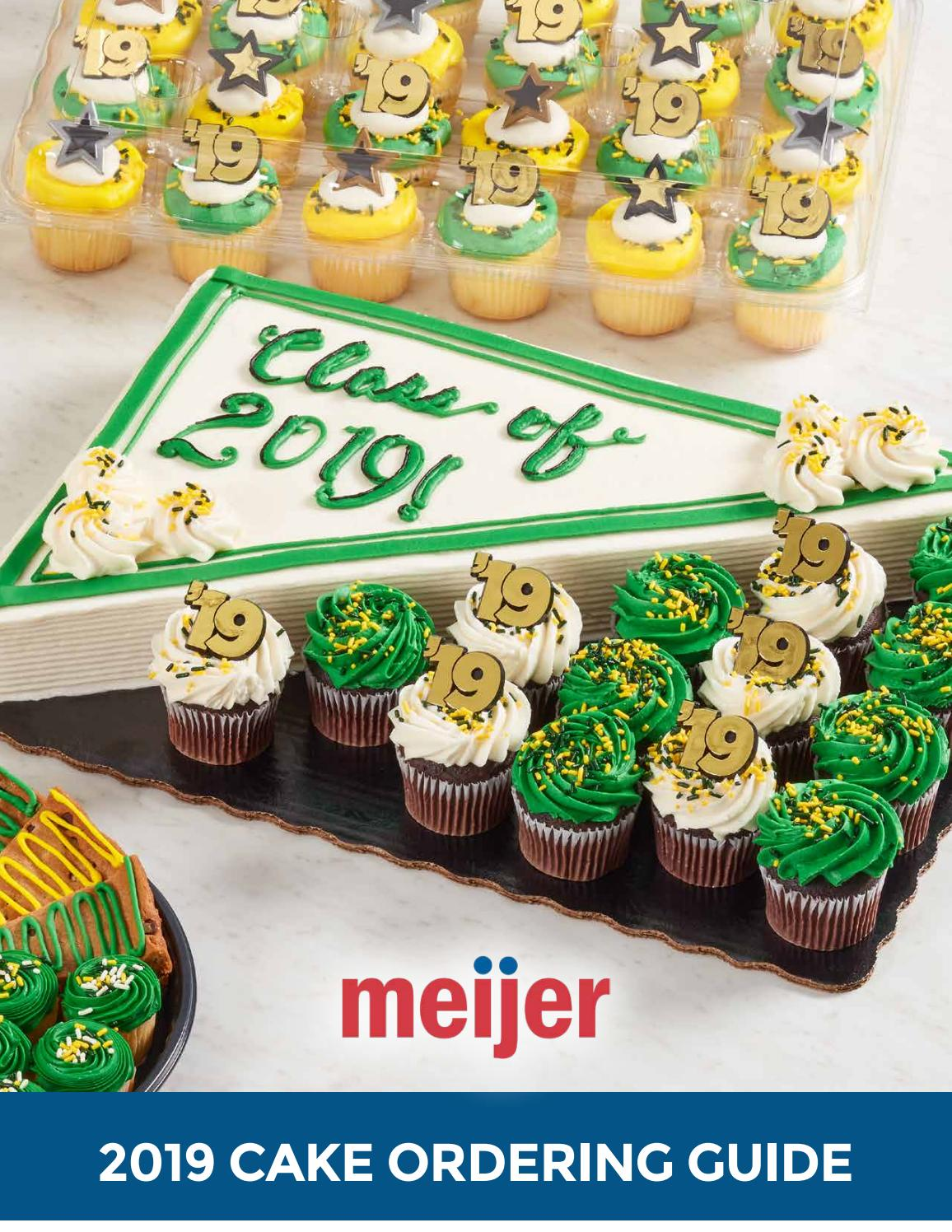 Pleasant 2019 Meijer Cake Ordering Guide By Decopac Issuu Funny Birthday Cards Online Inifodamsfinfo