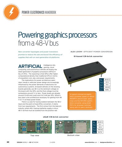 Page 22 of Powering Graphics Processors from a 48-V Bus
